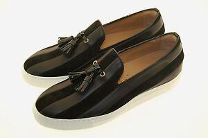 Man 42eu black veau Cuir Semelle sneaker daim de daim blanc 9us veau caoutchouc en Caoutchouc Bdr8qxndw