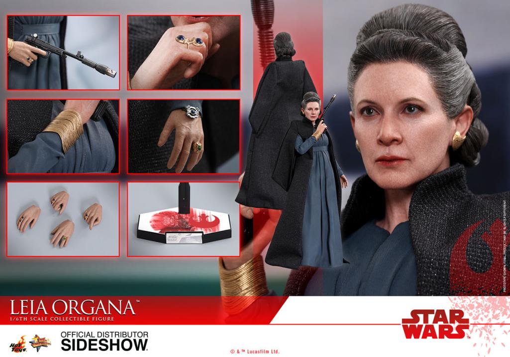 Leia Organa - Star Wars The Last Jedi 1:6 Maßstab Hot Toys HT903333