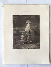 GRAVURE HELIOGRAVURE GEORGES PETIT 1904 DECAMPS LA GRAND MERE