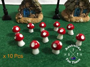 10pcs-Mini-Red-Mushrooms-for-Miniature-Plant-Pots-Fairy-Decor-Garden-Magic-Craft
