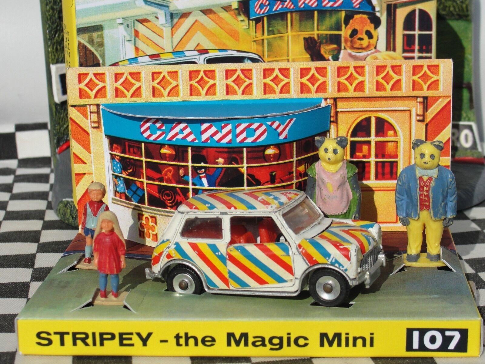más vendido DINKY TOYS  STRIPEY THE MAGIC MINI MINI MINI 107  USED BOXED  autorización