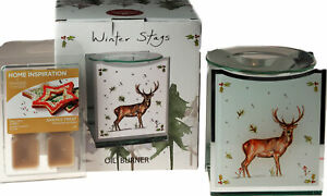 Christmas-Reindeer-Stag-Oil-Burner-And-Yankee-Candle-Wax-Melts-Santas-Treats