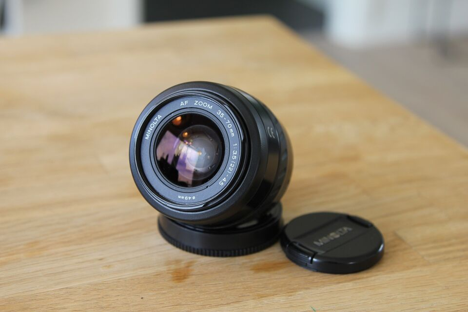 Zoom optik, Minolta, Passer på Sony alpha