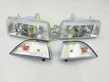 Headlights Headlamps for GT#G Corolla AE92 AE93 AE94 E90 EE90 sedan CL 89-92