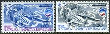 FSAT TAAF 112-113, MNH. Biomass, Whales, Ship, 1985