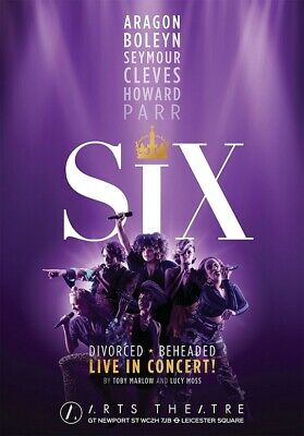 SIX THE MUSICAL poster photograph 2 - glossy A4 print   eBay