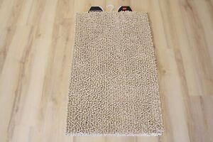 Tappeto da bagno pietra beige chiaro cm soffice ebay
