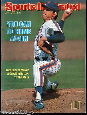 Sports Illustrated 1983 New York Mets Tom Seaver No Label NR/Mint