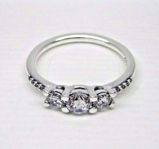 5104ac86c Authentic Pandora #196242CZ-60 Fairytale Sparkle Ring with Clear CZ Size 9