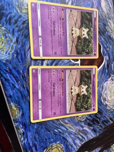 Rare Pokemon Card Cosmic Eclipse Set Mimikyu 97//236 - NM 2019
