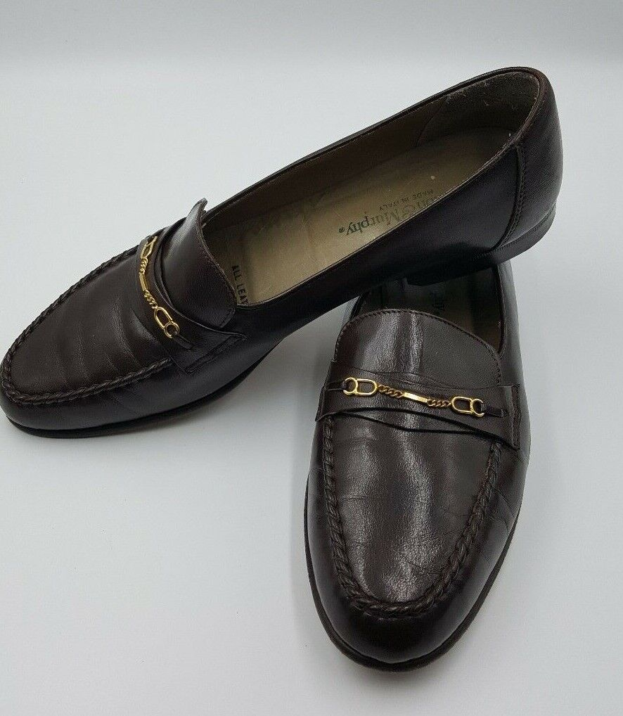 Johnston & Murphy Size 12 Men's Leather Loafers 98-602