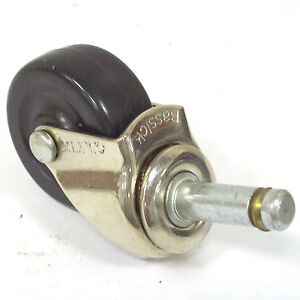 "2/"" Bassick 7//16x1-3//8 Grip Ring Stem Caster 5Pc Wholesale Lot C135"