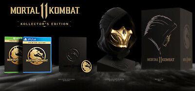 Mortal Kombat 11 Collector S Edition Ps4 Ebay