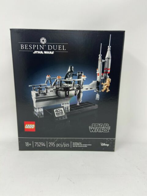 Brand New LEGO 75294 Star Wars Bespin Duel 40th Celebration Building Set