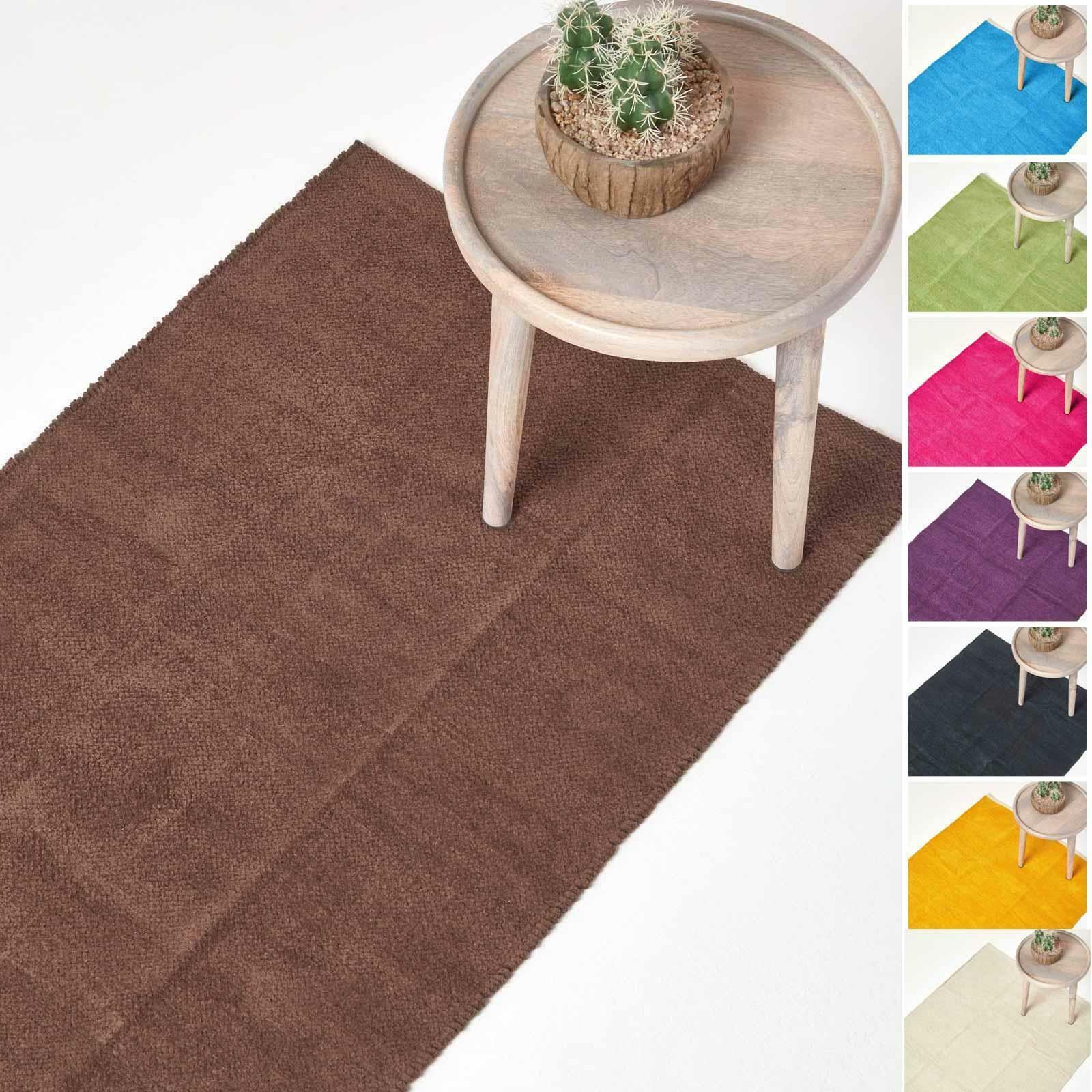 Small Large Extra Long Soft Cotton Shower Bathroom Mats Set Washable Toilet Rug