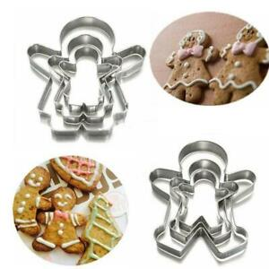 3Pc//Set Stainless Penis Cookie Cutter Mold Baking Biscuit Fondant Cake BL3