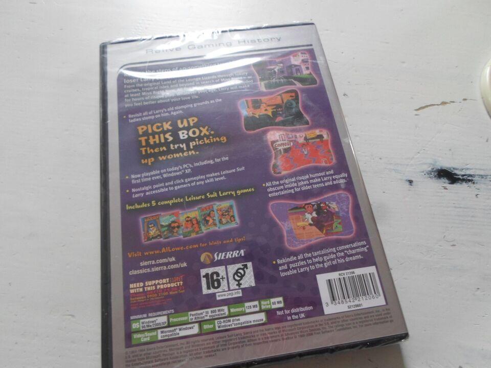 Leisure Suit Larry Collection, til pc, adventure