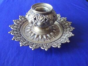 vintage french bronze inkwell