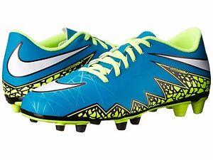 Womens Shoes Nike Hypervenom Phade 2 FG Blue Lagoon/Volt/Black/White