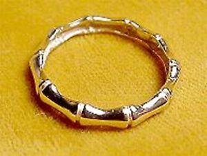 New 14k Gold Ladies Bamboo Wedding Band Ring Free Shipping Ebay