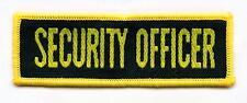 Aufnäher Security Officer  Patch