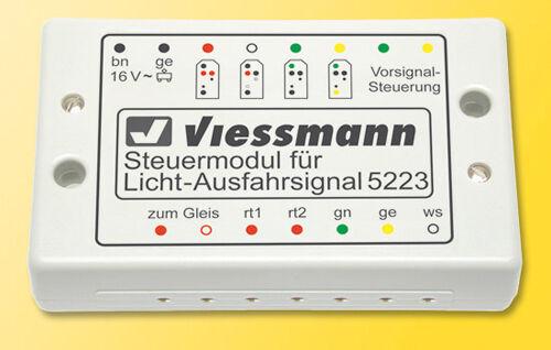 Viessmann 5223 Steuermodul für Licht-Ausfahrsignal #NEU OVP#