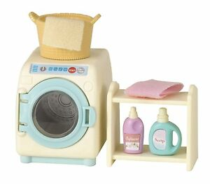 Image Is Loading Epoch Sylvanian Families Furniture  KuruKuru Washing Machine Set