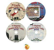 73 Magazine Amateur Radio Today 512 Issues on DVD Ham Radio Antenna Wireless