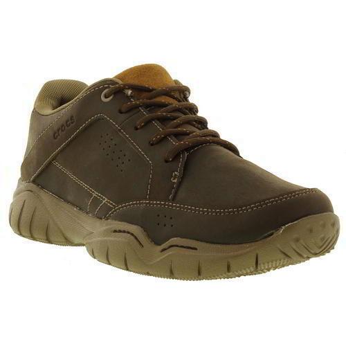 Crocs Swiftwater Hiker Casual  Uomo Braun Casual Hiker Vegan Schuhes Trainers Größe UK 6-10 5df0f0