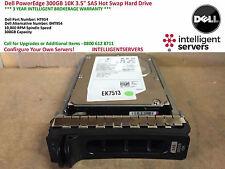 Dell PowerEdge 300GB 3G SAS 10K 3.5'' Hot Swap Hard Drive HT954 / 0HT954