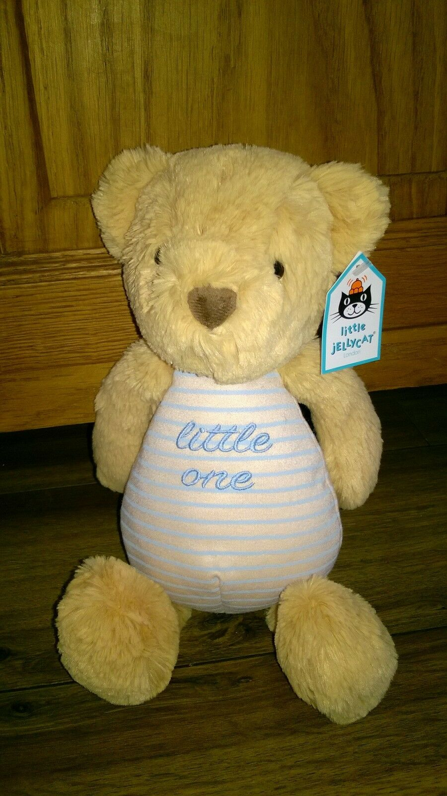 Jellycat Little One Teddy Bear Bear Bear Soft Toy  bluee BNWT 72558f