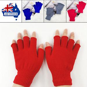 Winter-Women-Soft-Elastic-Mittens-Knitted-Stretch-Half-Finger-Fingerless-Gloves