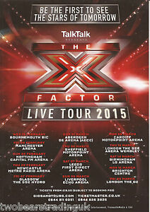 image is loading event promo flyer the x factor live tour