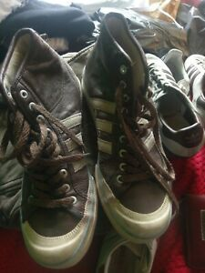 Adidas Nizza High Top leather Sneakers