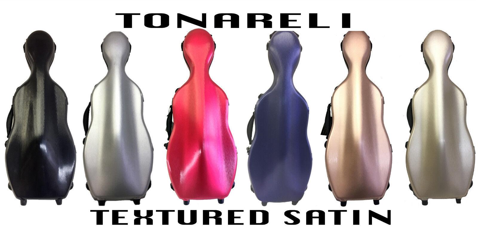 Tonareli 15 -17  lila Fiberglass Case Special Edition Satin Finish - NEW