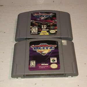 NFL-Blitz-amp-2000-Game-Lot-N64-Authentic-Nintendo-64-TESTED-Fun-Football-Games