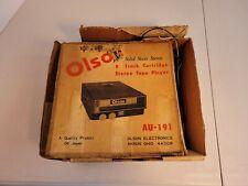 Vintage Olson 8 Track Player Car Au 191 With Original Box