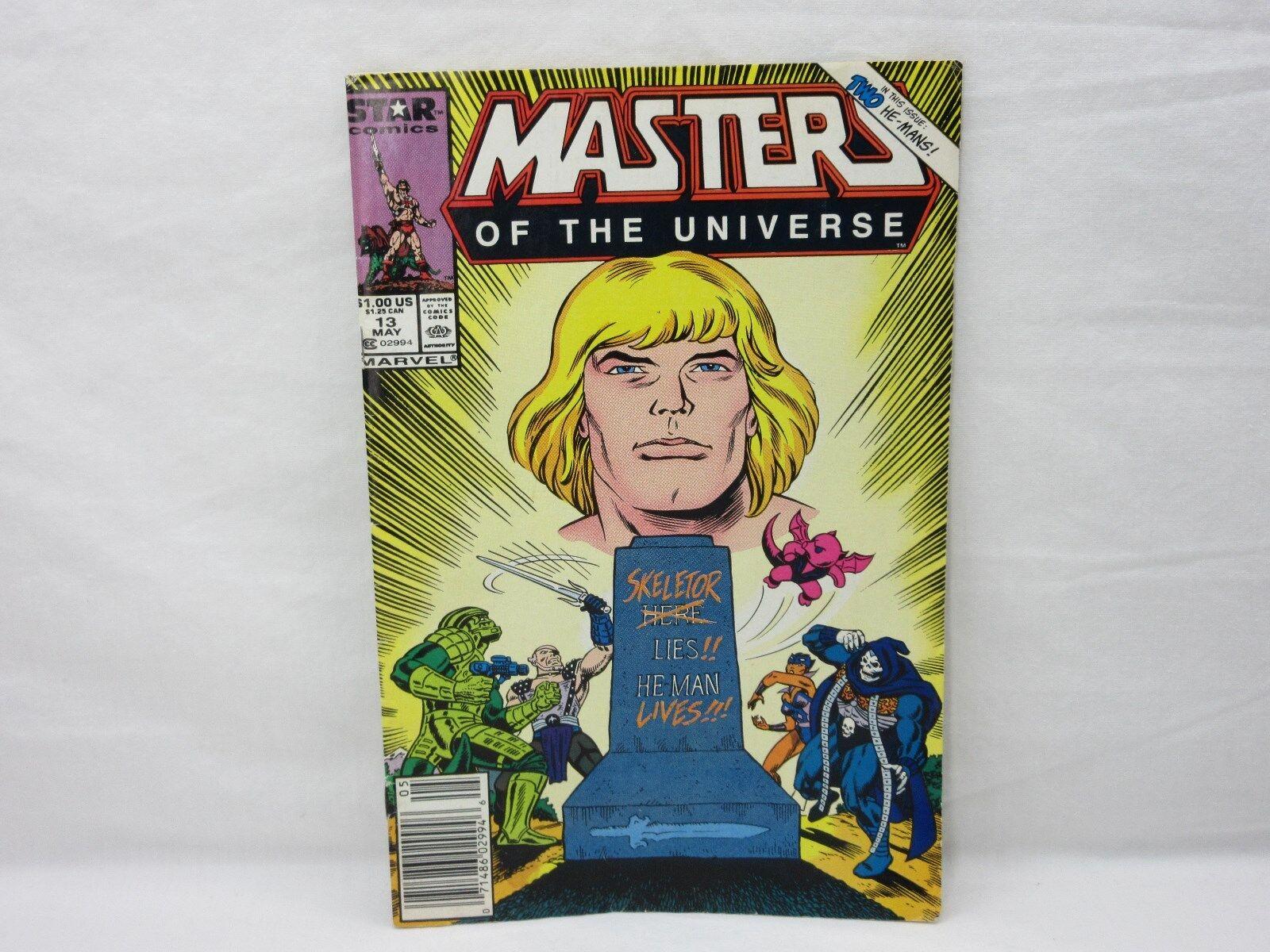 MOTU,SKELETOR LIES HE-MAN LIVES,STAR full Dimensione comic,Masters of the Universe