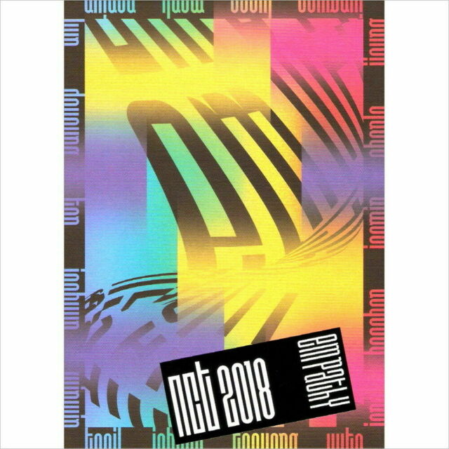 NCT 2018 Album Nct2018 Empathy CD Booklet Photo Card US SELLER