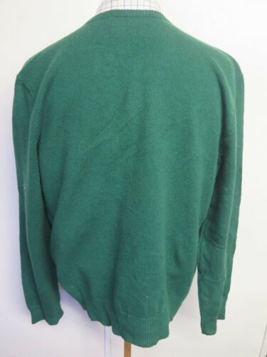 46 48 En Ralph Neck V Polo Ralph Lauren Genuine Col V Lauren Authentique XL Jumper Polo 46 48 Green Vert Xl Pull w1TXT7zxq