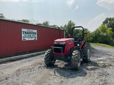 2017 Massey Ferguson 2604h 4x4 50hp Utility Tractor With 1 Remote Only 400hrs