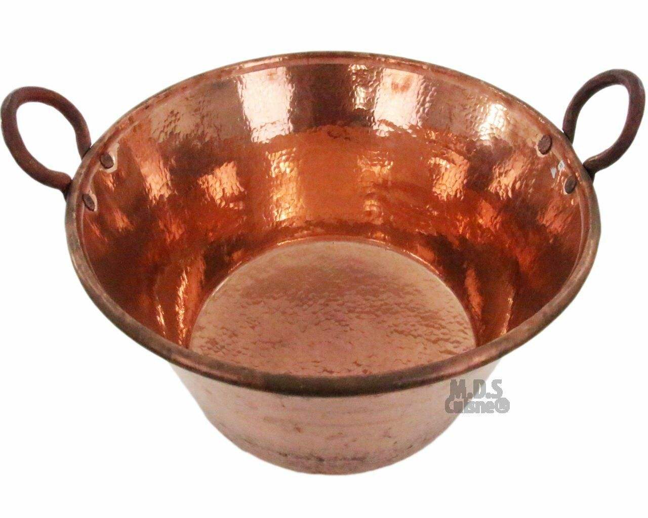M.D.S Cuisine Cookwares Cazo De Cobre Para Carnitas Large 24  Heavy Duty...