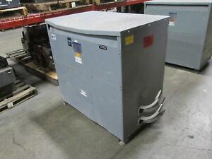 Square-D-Transformer-225T3HF-225KVA-Pri-480V-Sec-208Y-120V-Used