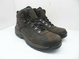 Timberland Men's Flume Mid-Cut Waterproof Boots 18128 Brown Leather Size 10.5M