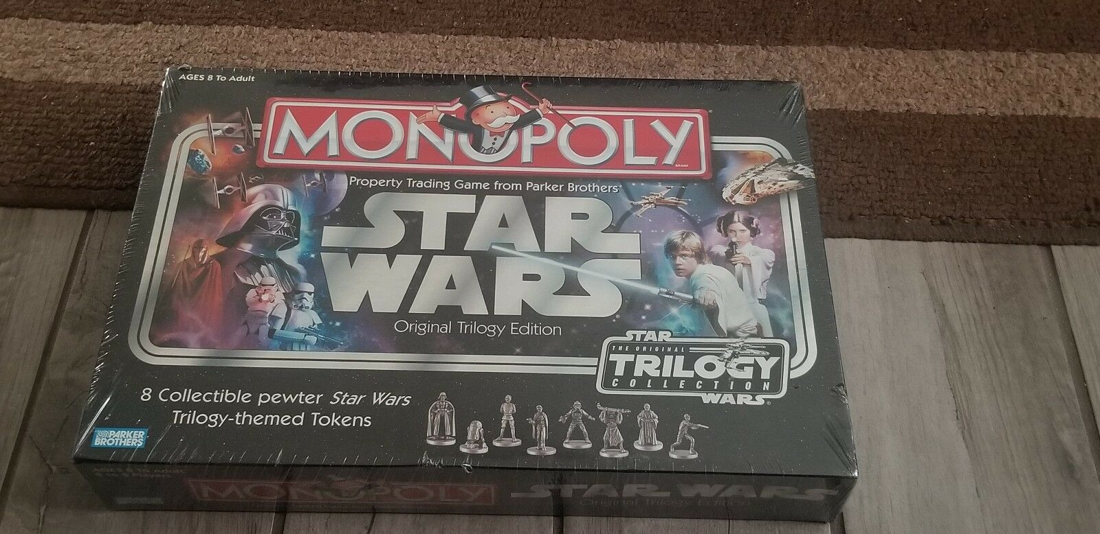 Star Wars Monopoly—The Original Trilogy Edition 2004–Brand New