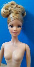 Gorgeous Nude Ballerina Barbie Model Muse Mackie Face Sculpt
