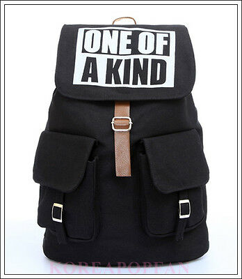 G-DRAGON GD ONE OF A KIND BIGBANG MADE CANVAS SCHOOL BAG BACKPACK NEW