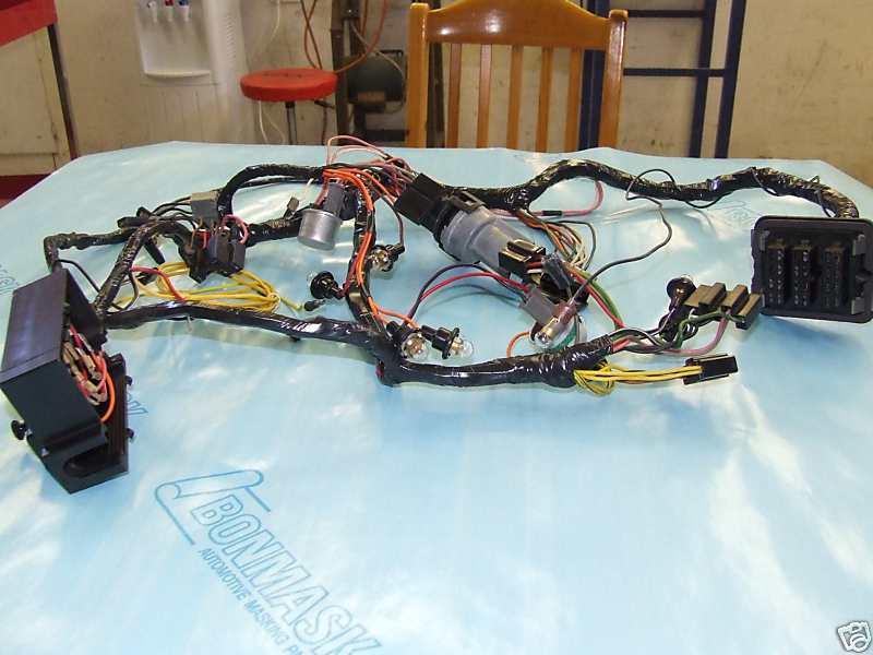 Rallye Dash Wiring Harness 68-69 B body -Restore Yours | eBay