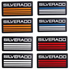 2x Cab Emblem Badge Side Roof Pillar Decal For Chevy Silverado Suburban Tahoe