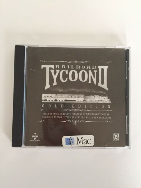Railroad Tycoon II: Gold Edition (Apple, 1999) Mac